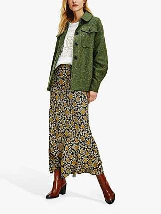 Tommy Hilfiger Crepe Floral Midi Skirt, Multi