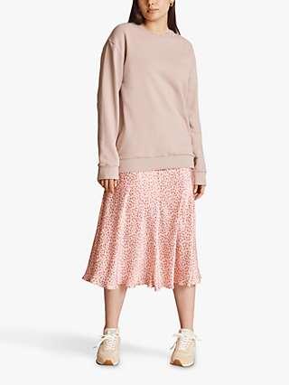 Ghost Hallie Floral Print Slip Skirt