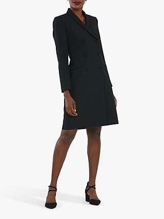 Helen McAlinden Cameron Tuxedo Jacket Dress, Black