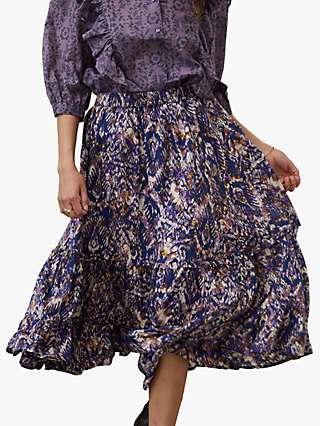 Lollys Laundry Sana Abstract Print Skirt, Multi