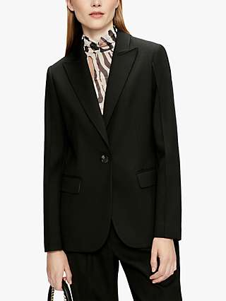 Ted Baker Single Breasted Tailored Jacket, Black