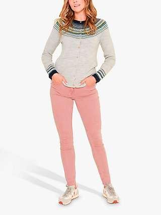 Brakeburn Slim Fit Trousers, Pink