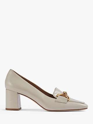 L.K.Bennett Samantha Crinkle Patent Snaffle-Detail Court Shoes