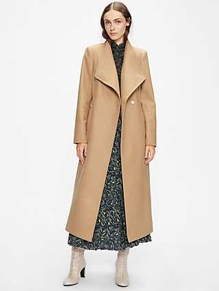Ted Baker Rosell Wool Blend Long Coat