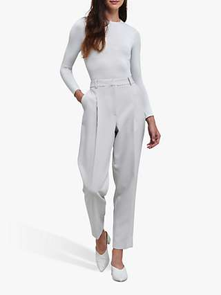 Helen McAlinden Mary Tailored Trousers, Silver