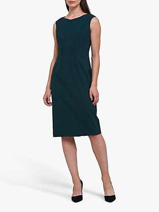 Helen McAlinden Livia Dress, Dark Emerald