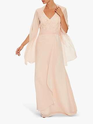 Gina Bacconi Betony Chiffon Dress
