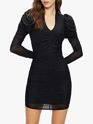 Ted Baker Dunlin Ruched Bodycon Dress, Black