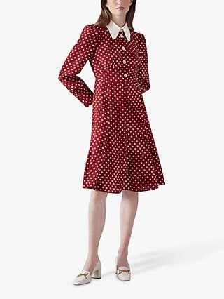 L.K.Bennett Mathilde Silk Tea Dress