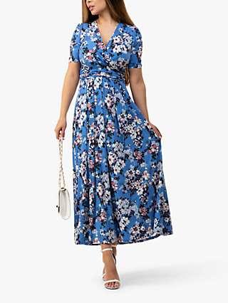 Jolie Moi Beatrice Floral Print Maxi Dress