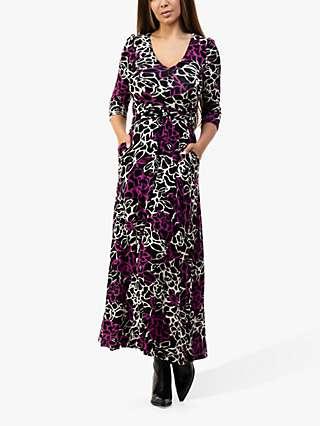 Jolie Moi Kamiyah Floral Print Maxi Dress, Multi