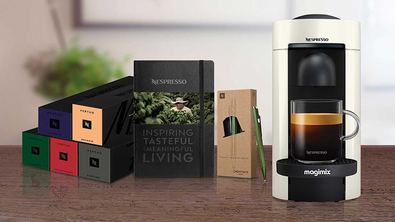 NESPRESSO VERTUO PLUS BY MAGIMIX