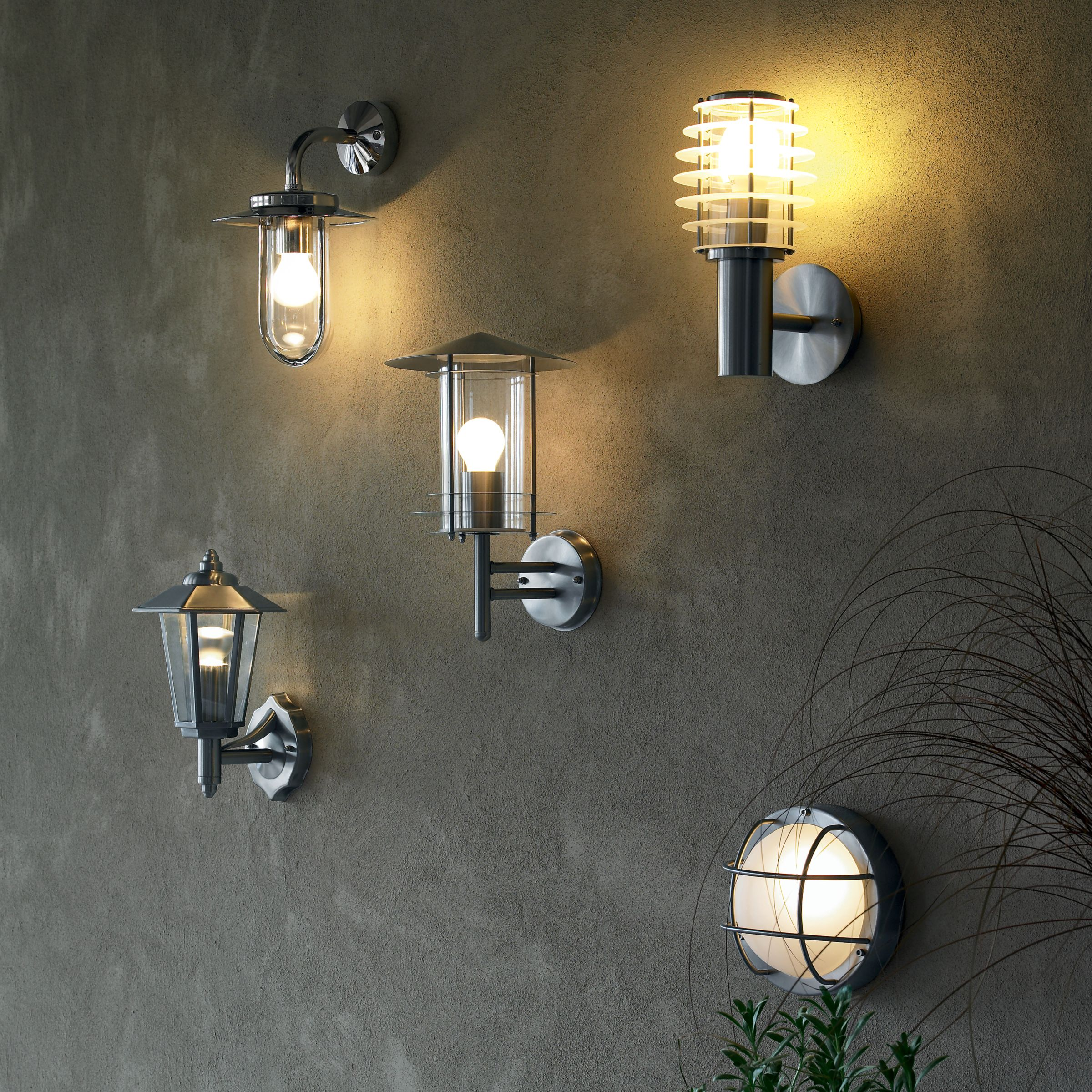 Buy ASTRO Montparnasse Outdoor Lantern Wall Light John Lewis
