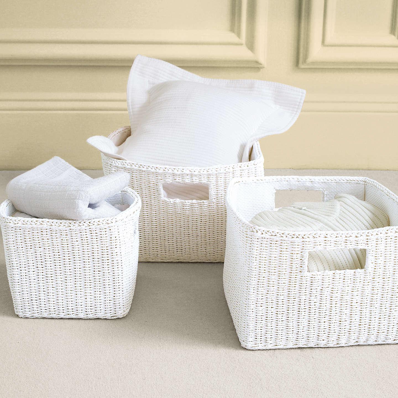 Bon ... BuyJohn Lewis Paper Rope Basket, Medium Online At Johnlewis.com ...