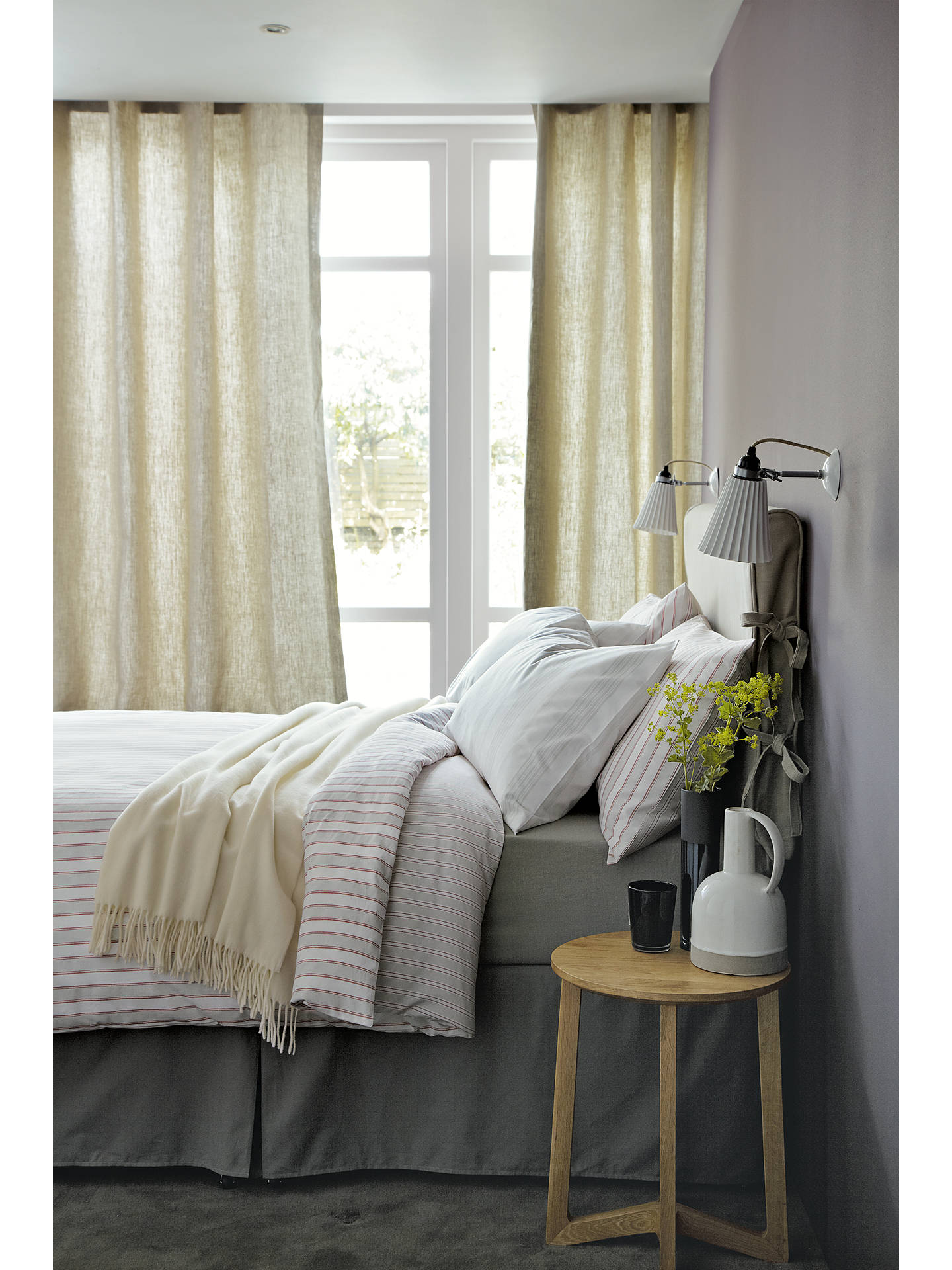 BuyOriginal BTC Hector Pleat Wall Light Online at johnlewis.com