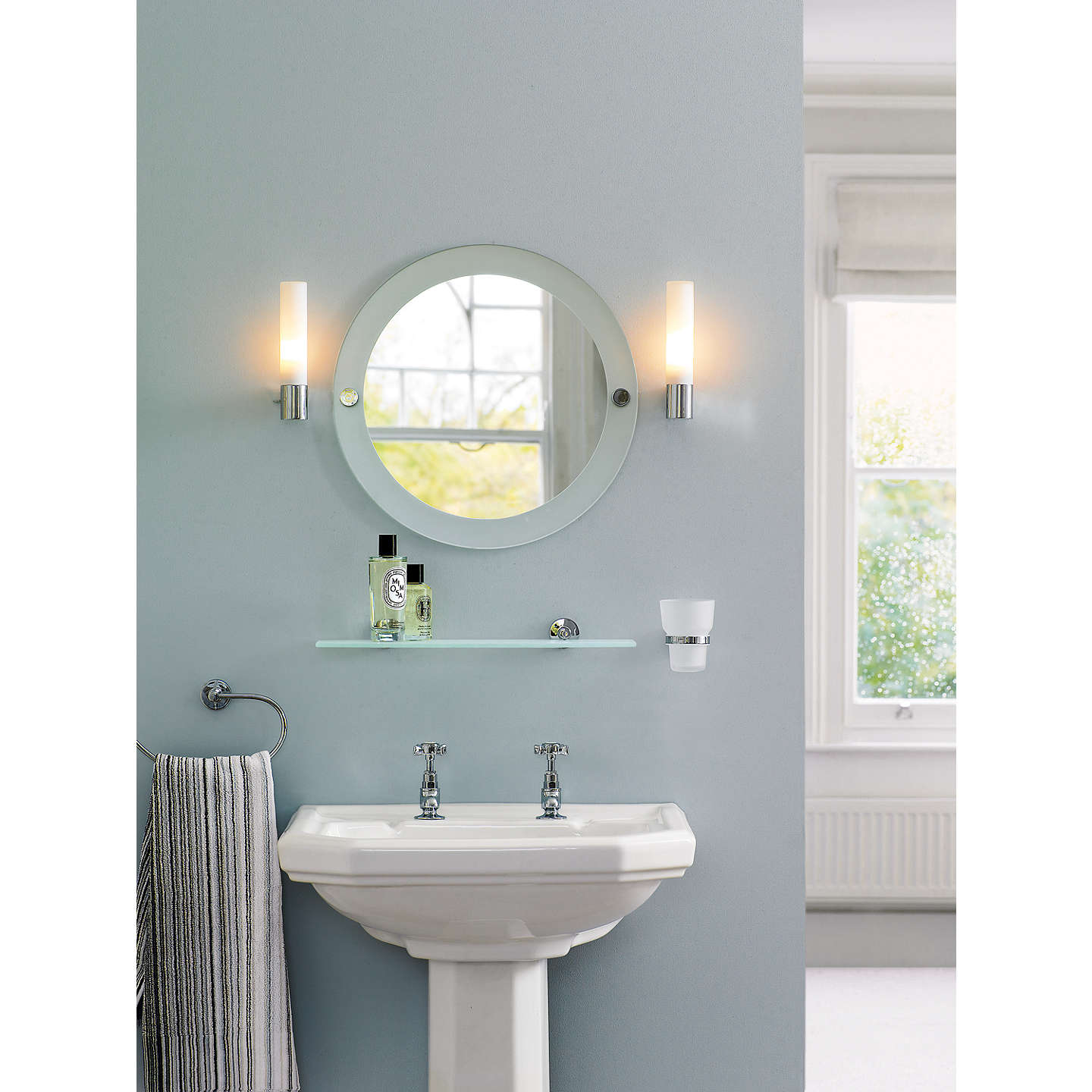 bathroom lighting online astro bari bathroom wall light at lewis 10919