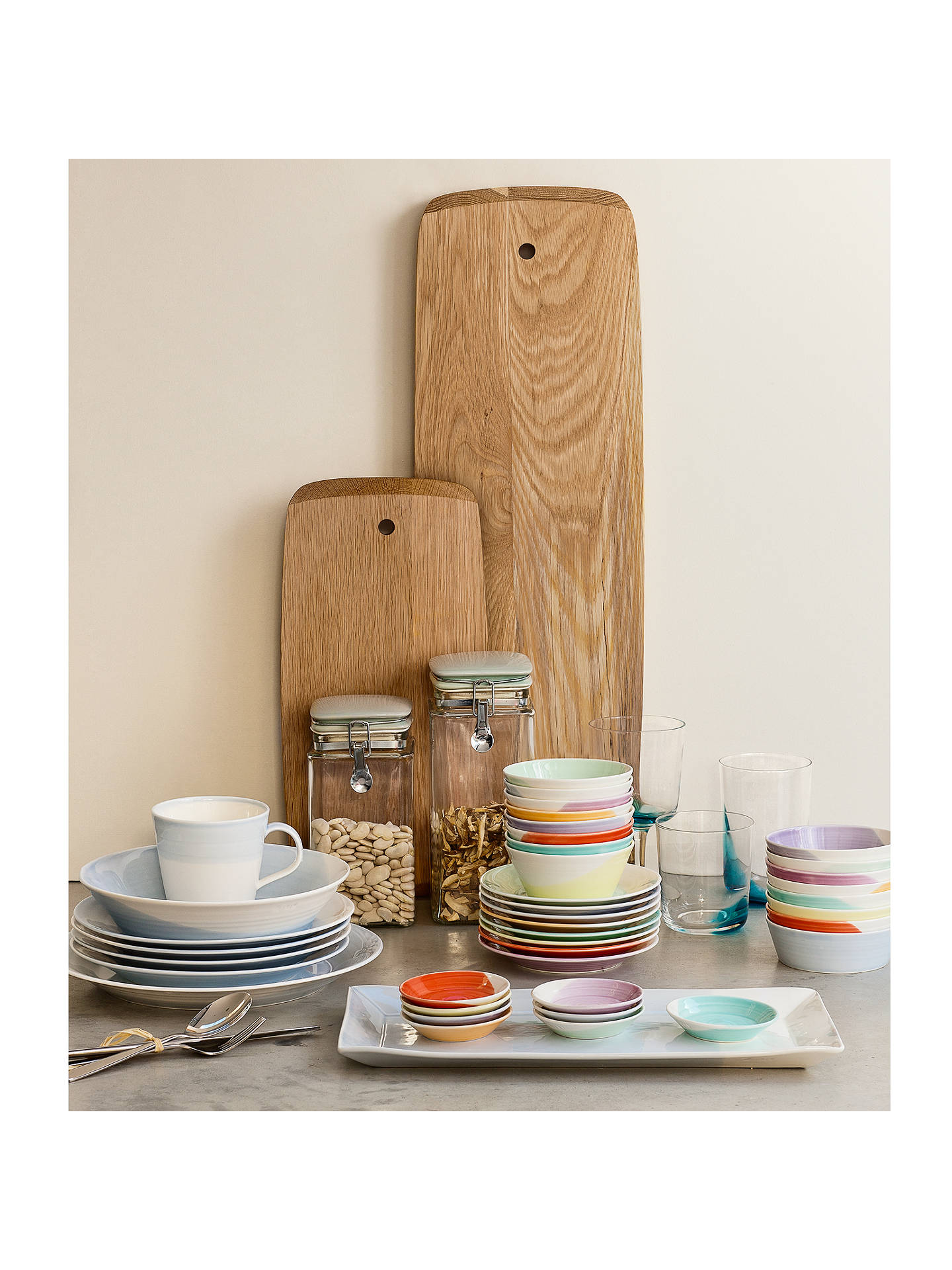 BuyRoyal Doulton 1815 Dinnerware Set, White/Blue, 16 Pieces Online at johnlewis.com