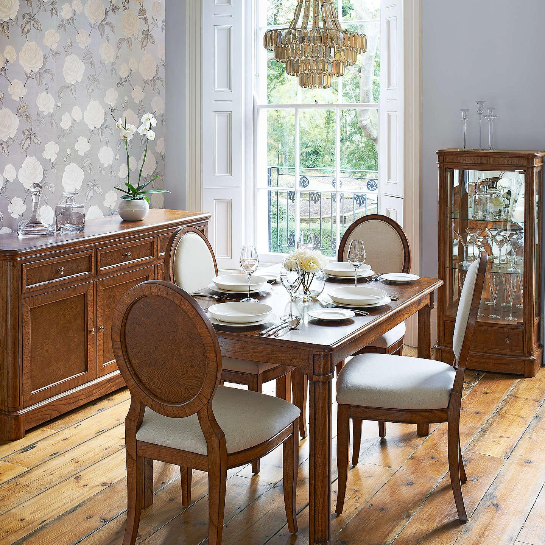 john lewis hemingway 4 6 seater extending dining table at. Black Bedroom Furniture Sets. Home Design Ideas