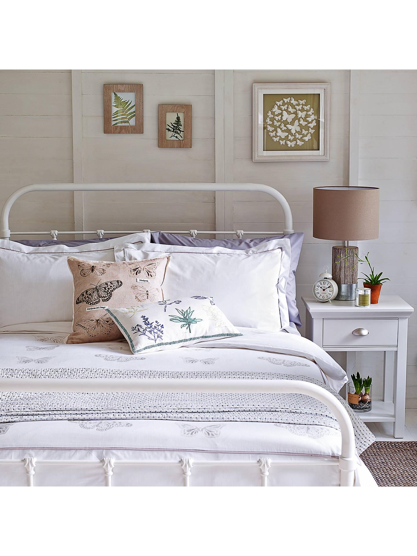 701422496c4c3 ... Buy John Lewis   Partners Fran Botanist Bed Frame