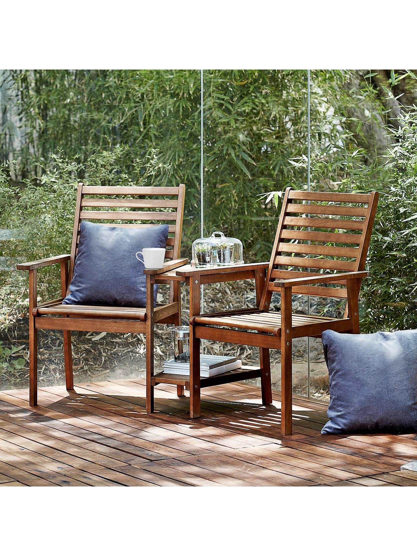 John Lewis & Partners Naples Outdoor Love Seats at John Lewis & Partners