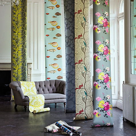 Buy Cole & Son Acquario Wallpaper Online at johnlewis.com