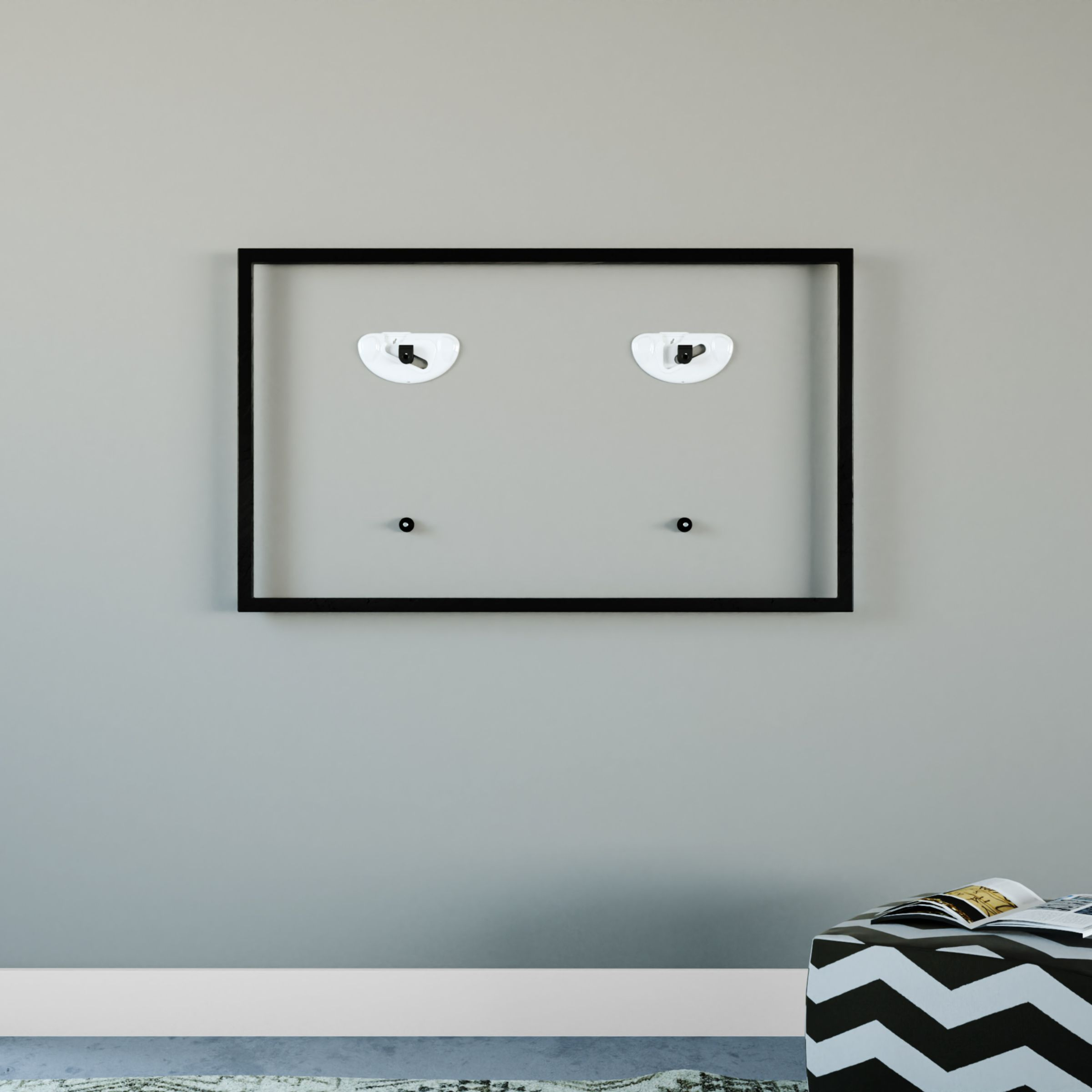 Fixed wall mounts