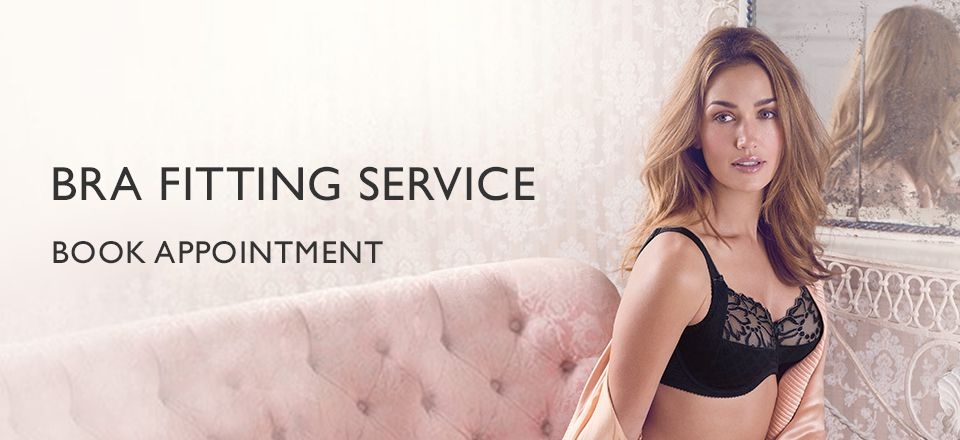 Bra fitting service - Book appointment