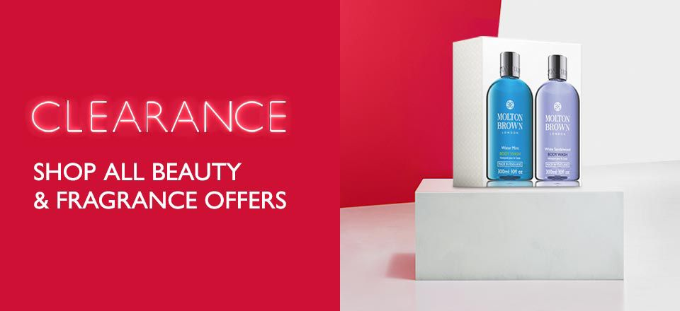 Clearance - Shop all Beauty & Fragrance offers
