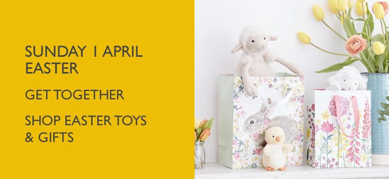 Sunday 1 April Easter - Shop Toys and Gifts