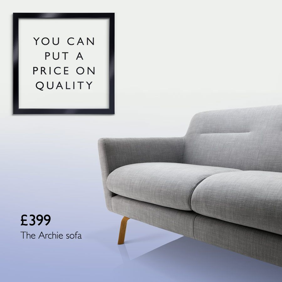 £399 The Archie sofa
