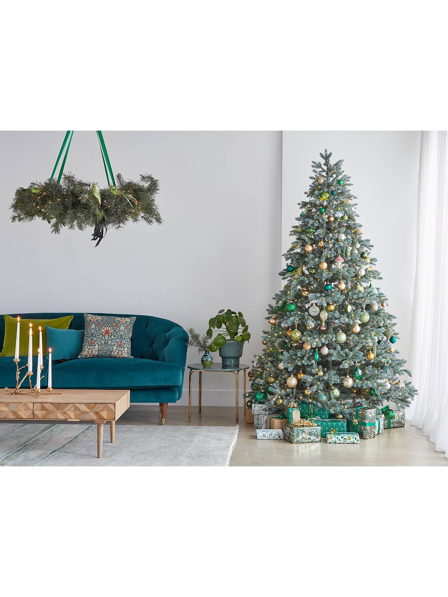 John Lewis Christmas Tree Skirt.John Lewis Partners Garden Retreat Willow Tree Skirt Natural