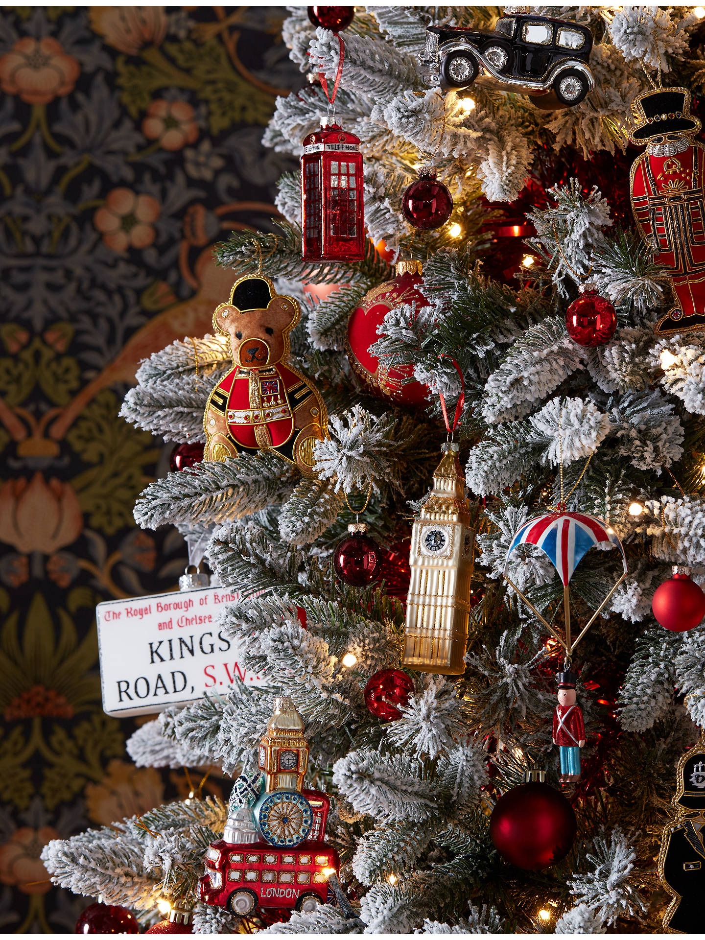 Buy Tinker Tailor London Taxi Tree Decoration, Multi Online at johnlewis.com
