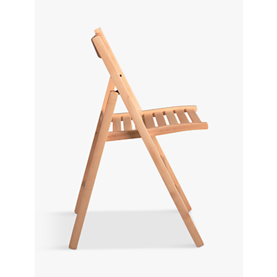House by John Lewis Buiani Folding Chair, Natural