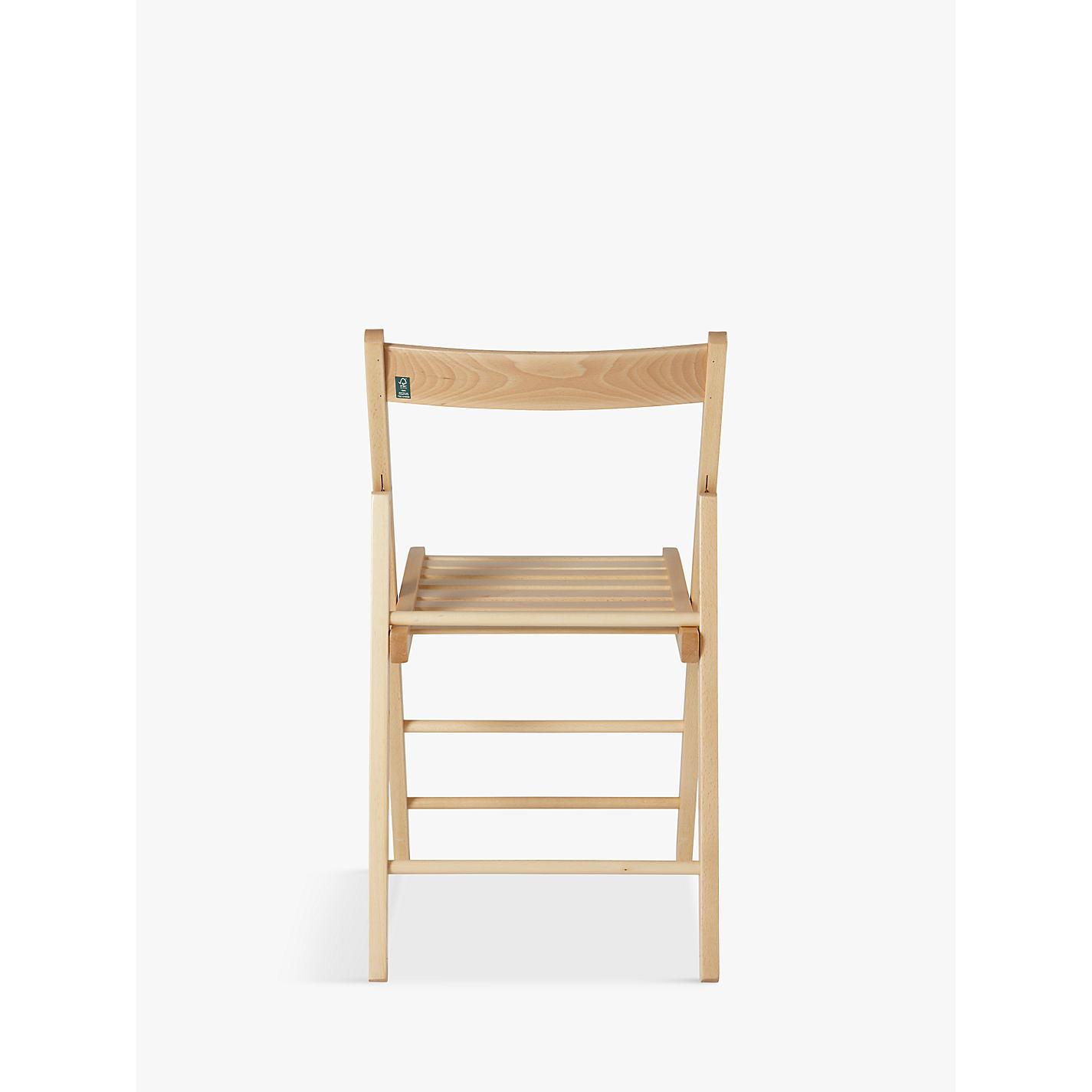 buy house by john lewis buiani folding chair fsc certified beech