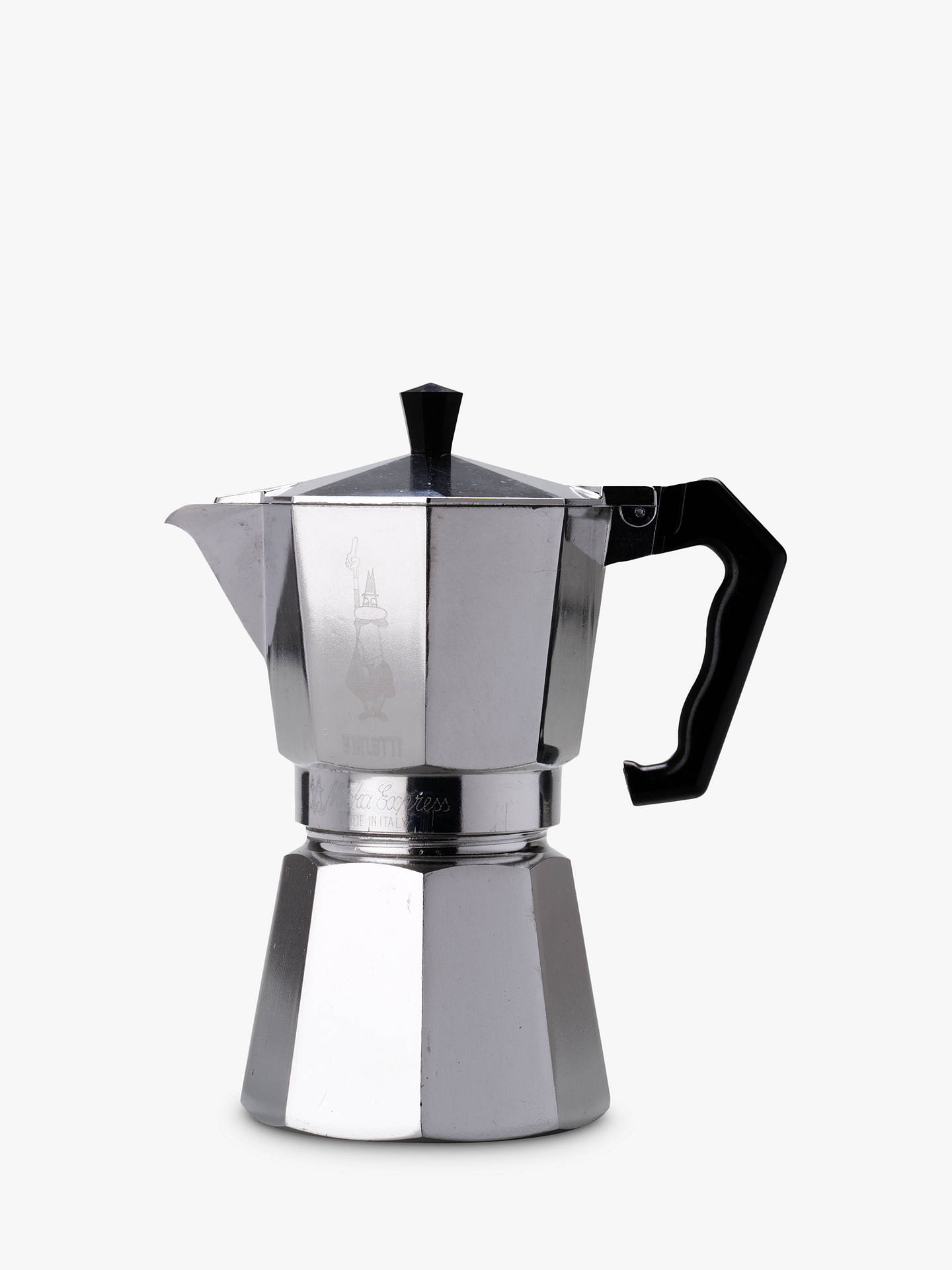 BuyBialetti Moka Express Hob Espresso Maker, 1 Cup Online at johnlewis.com