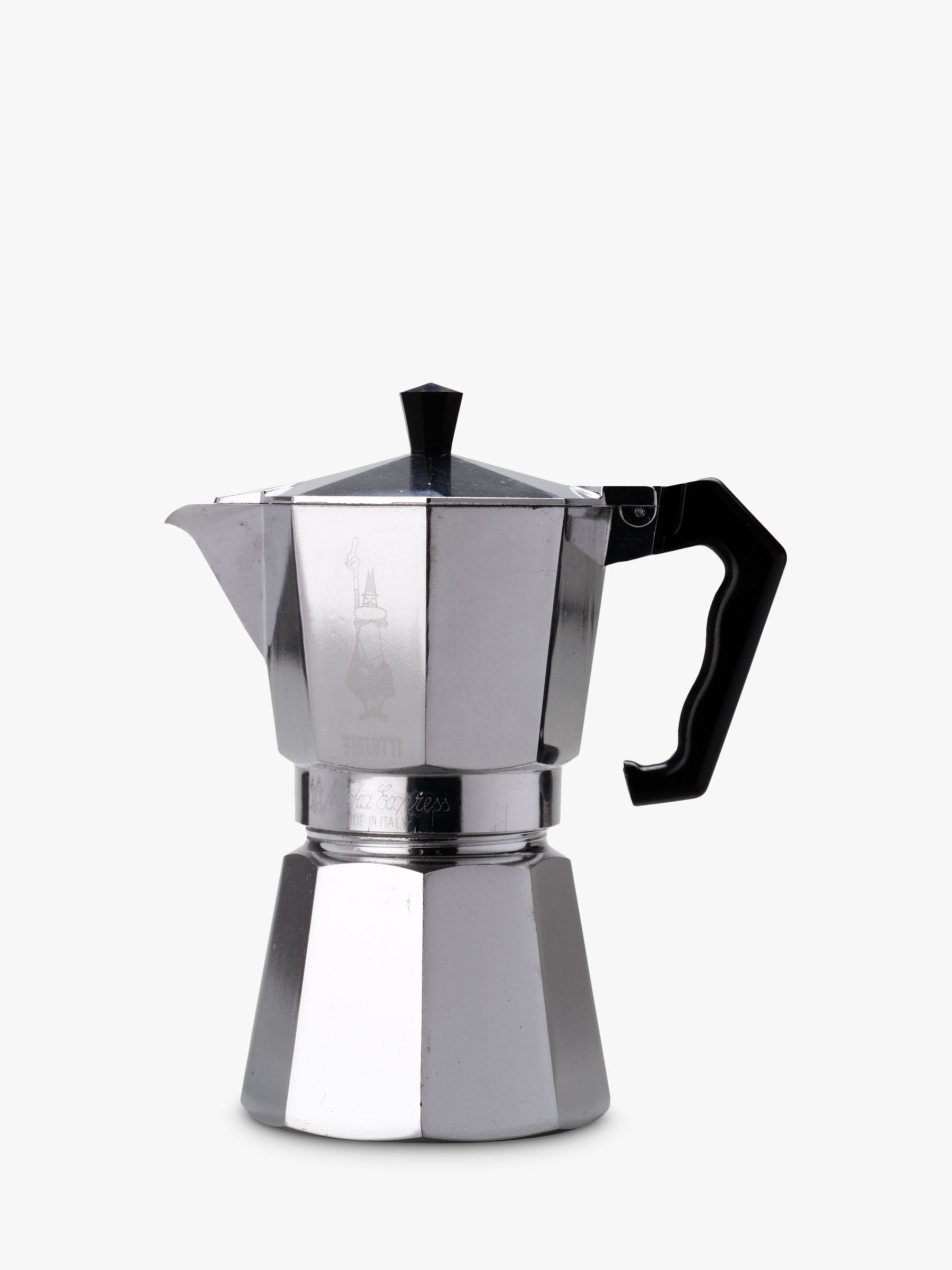 Hob Coffee Maker How To Use : Buy Bialetti Moka Express Hob Espresso Maker John Lewis