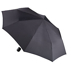 Buy Fulton Stowaway Umbrella, Black Online at johnlewis.com