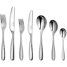 Buy Robert Welch Stanton Place Setting, 7 Piece Online at johnlewis.com