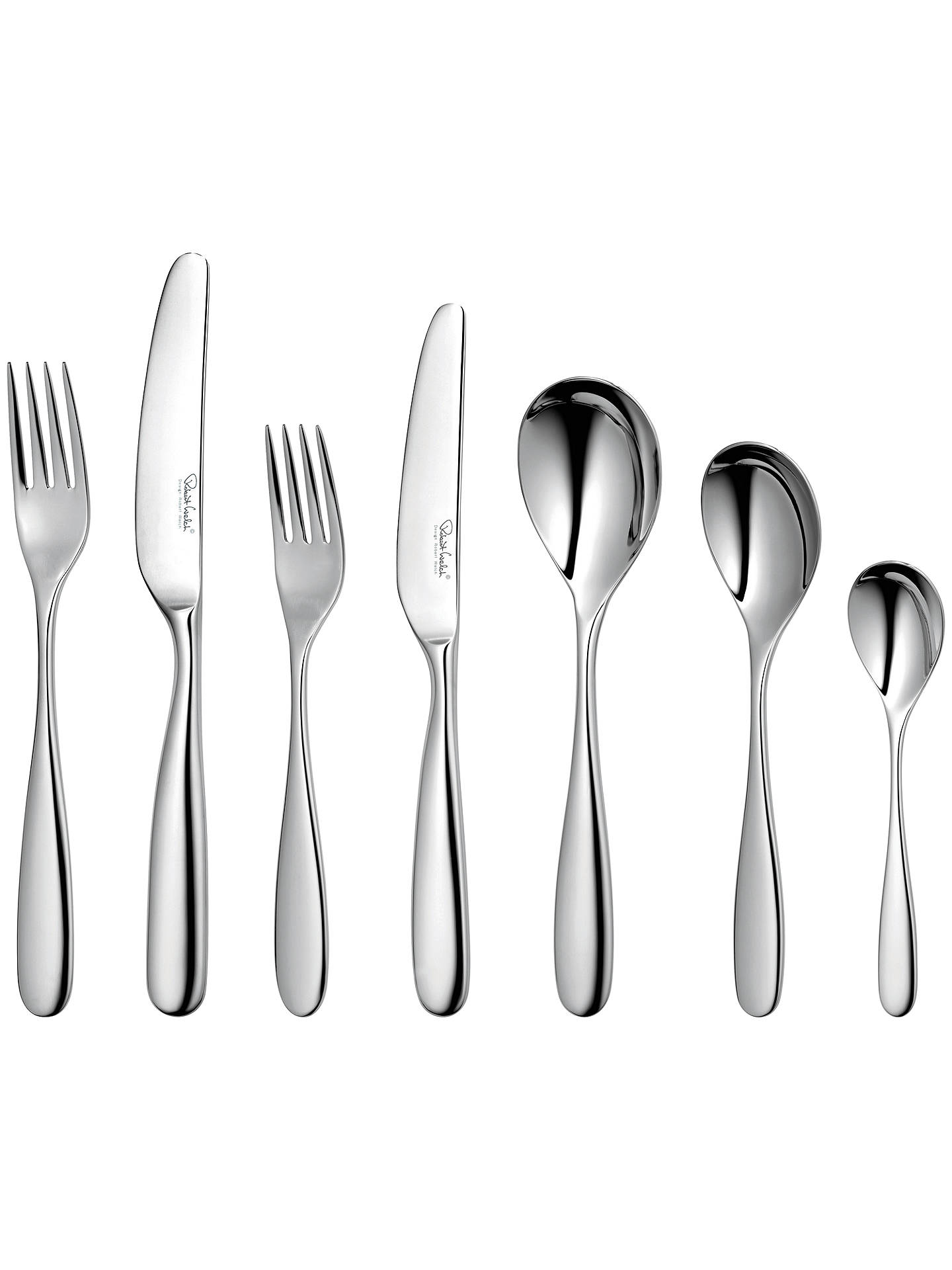 Buy Robert Welch Stanton Cutlery Set, 7 Piece/1 Place Setting Online at johnlewis.com