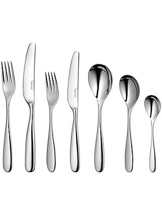 Robert Welch Stanton Place Setting, Stainless Steel, 7-Piece