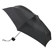 Buy Fulton Tiny Umbrella, Black Online at johnlewis.com