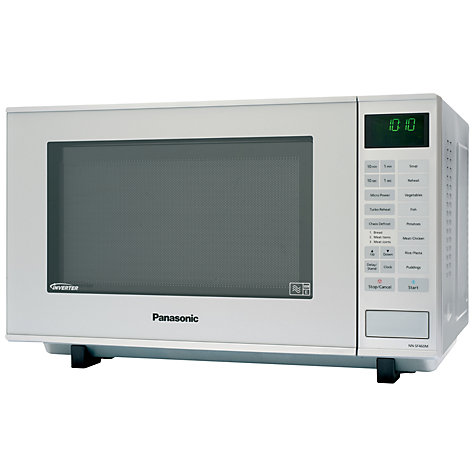 Buy Panasonic NN-SF460M Microwave Oven, Silver Online at johnlewis.com