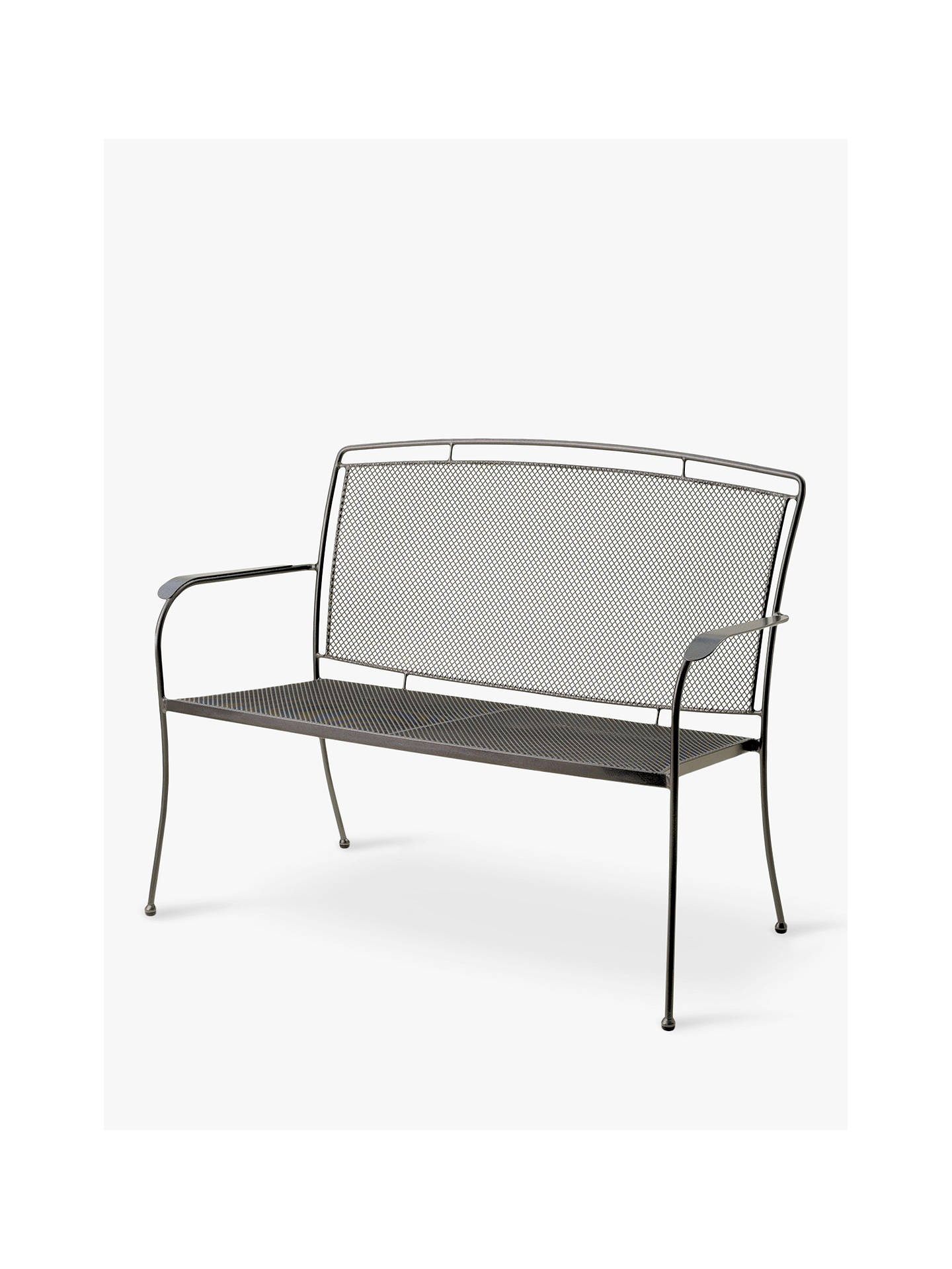 BuyJohn Lewis & Partners Henley by KETTLER 2-Seat Garden Bench, Grey Online at johnlewis.com