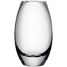 Buy LSA International Verona Barrel Vase, Clear, H30cm Online at johnlewis.com