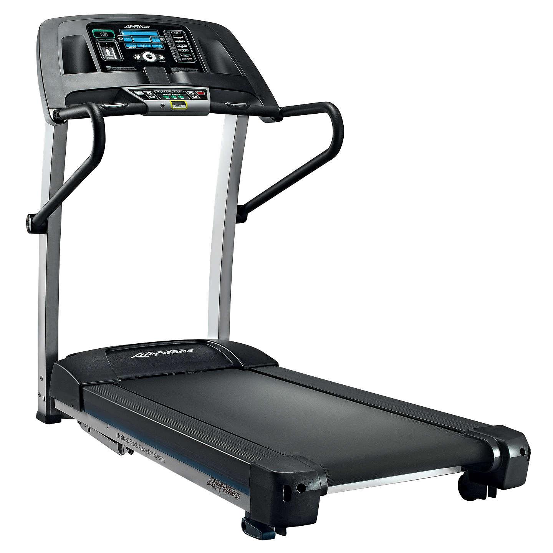 Gym Equipment John Lewis: Life Fitness F1 Smart Folding Treadmill At John Lewis
