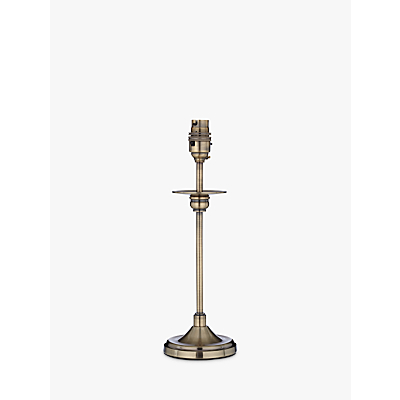 Aston Antique Brass Finish Lamp Base