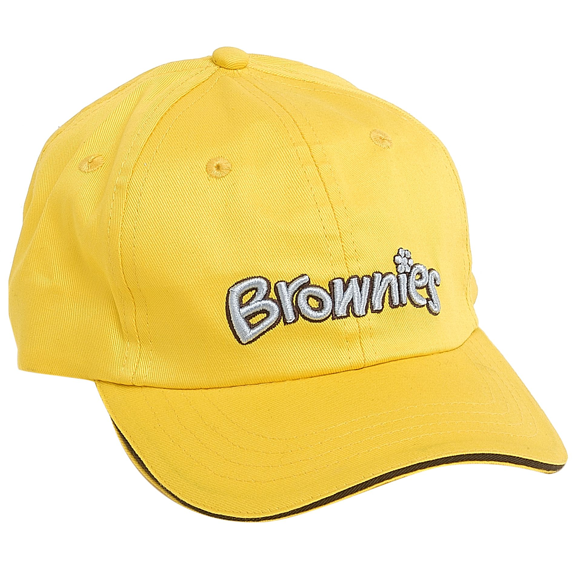 Brownies Brownies Uniform Cap, Yellow, One Size