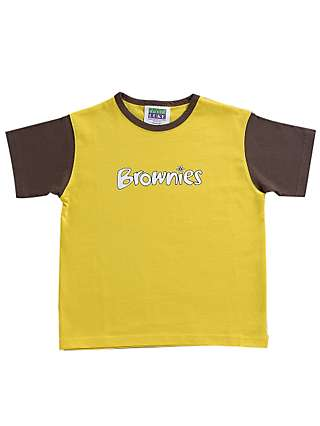 06f204c151c8 Brownies Uniform Gilet, Yellow at John Lewis & Partners