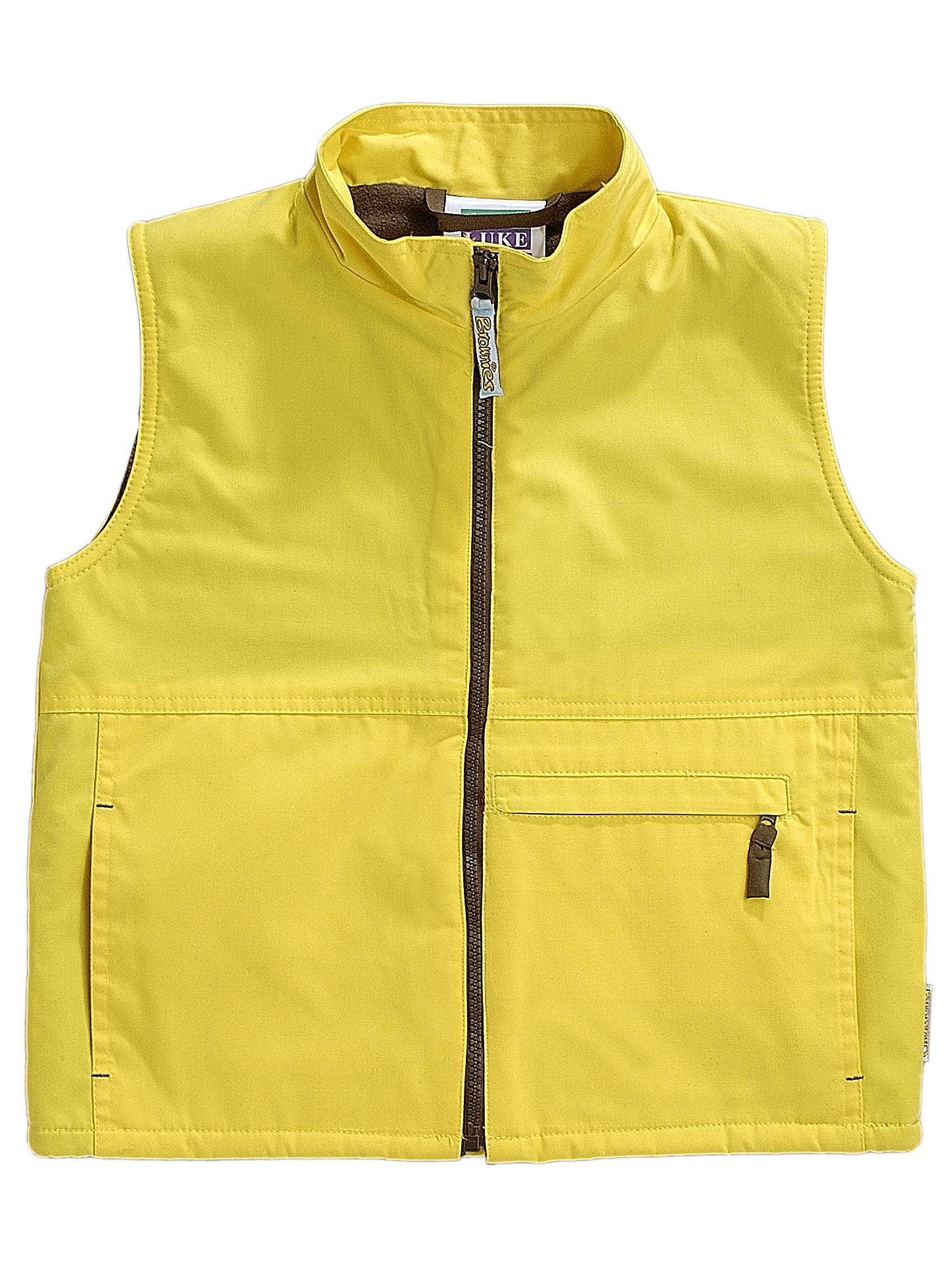 Brownies Brownies Uniform Gilet, Yellow