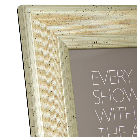 "Buy John Lewis Champagne Linen-Effect Photo Frame, 8 x 10"" (20 x 25cm) Online at johnlewis.com"